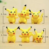 abs articles - Cute Pikachu style view doll furnishing articles doll ABS Action Figure Toys cm poke mon