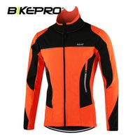 Wholesale Outdoor Sport Windproof Waterproof Winter Warm Riding Cycling Jacket Road Bike Fleece Mountain Bicycle Clothing Breathable Coat