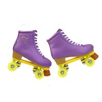 Wholesale Flying Tiger Double Roller Skates Colors Wheels Skates Two Line Roller Skate Patins Unisex Patins Adult Skate