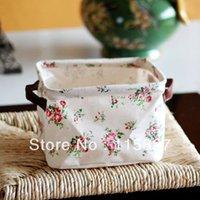 basket case gifts - Linen storage basket Storage case toys storage case books Holder Foldable storage case wedding gift