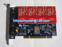 Wholesale TDM400P With FXO Module Quad Span PCI Asterisk Card