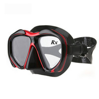 Wholesale Optical Diving Mask Hyperopia Myopia Snorkel Goggles Custom Strength Corrective Lens Farsighted Nearsighted Scuba