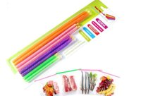 Wholesale Magic Bag Sealer Stick Unique Sealing Rods Great Helper For Food Storage Sealing cllip sealing clamp clip A031