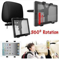 Wholesale Universal Car Back Seat Headrest Mount adjust Holder Stand Bracket Kit Tab Tablet For iPad Mini