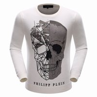 Wholesale PP Men Sweaters And Pullovers Casual O Neck Cotton Brand PHILIP PLEIN Knitted Pullover Men Winter Clothes Hot Sale