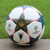 Wholesale Match Football Soccerball Soccer Euro Champions League Antiskid Competition Training NO Soft Skin Particles Battle of Wen Bailin