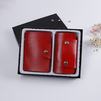 acrylic document holders - New Passport Holder Organizer Wallet multifunctional document package candy travel wallet portable purse business card holder