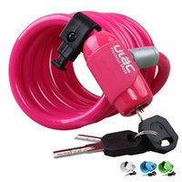 Wholesale New Bicycle Mountain Bike Lock Steel Cable Wire Lock For Cycling mm cm High Quality