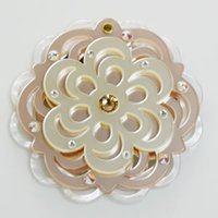 Wholesale Hottest Band Made Makeup Mirror CLOVER365 The Famous Brand In Japan Diamond mounted Acrylic Charm