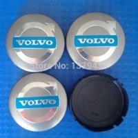 Wholesale set MM Diameter Wheel Hub Cap Cover Fit VOLVO C30 S40 S60 V50 V70 XC60 XC90