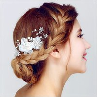 Wholesale The wild garden Hair hair act the role of red Korean manual wedding dress accessories studio accessories dish hair clip