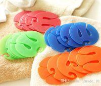 Wholesale 300SET LJJH596 HOT Sell Sock Organizers SET Sock Clips Colorful Sock Organizers Sorters Holders
