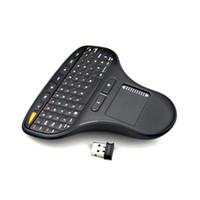 N5903 2.4GHz RF sans fil multimédia clavier Touch Pad Air Flying souris souris Clavier clavier pour TV Box / Android MINI PC