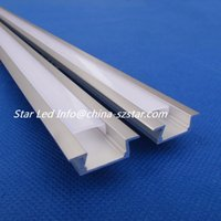 aluminium showcase - DHL m x m embedded led aluminium profile for showcase cabinet led bar light for mm strip QC2207