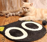 Wholesale Cartoon Cat Scratch Board Cat Claw Grinding Board Promotion Pet Scratcher Toy