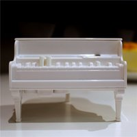 Wholesale New Sterile Piano Toothpick Box Piano Toothpicks Holder Box Plastic Toothpick Dispenser With Package