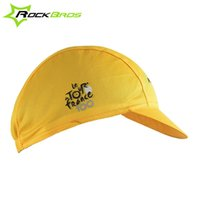 Wholesale Sports Caps Cycling Caps ROCKBROS Mountain Road Bike Bicycle Cycling Cap Team Hat Mesh Air Breathable Outdoor Sports Styles