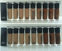 Cheap PROMOTION!(200PCS LOT)high quality mc Makeup MATCHMASTER FOUNDATION SPF15 35ML MAKE UP LIQUID FOUNDATION(NC15~NC50,NW20~NW58)+FREE fast dhl