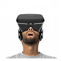 achat en gros de verres film de jeu-OriginalBlack VR SHINECON Réalité virtuelle 3D Glasses Casque pour Samsung Series Remarque iPhone 5s 6 3D VR Films Casque Regarder 3D et jouer aux jeux