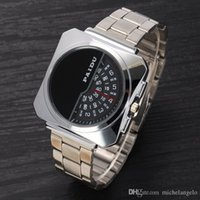 base reviews - Turntable Dial PAIDU Net Mesh Steel Band Wrist Fashion Watch Men Women Gift Rated based on customer reviews