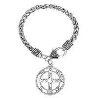 Wholesale My Shape Wiccan Jewelry Pentacle of Jupiter Talisman Key of Solomon Seal Pendant Hermetic Enochian Kabbalah Braceletss