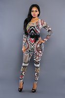 african leggings - hotsale Fashion Sexy Perspective Leggings Jumpsuits Traditional African Printed Dashiki Bodycon Dress Sexy long Sleeve Vestidos Club Dress