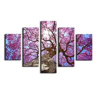 big multi photo frames - Simple Big Tree Canvas Painting Pictures On The Wall Print Paintings Home Decor Canvas Wall Art Modular Photos No Frame