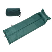 Wholesale 188 cm Outdoor Camping Mat Automatic Inflatable Mat Waterproof Dampproof Sleeping Pad Tent Air Mat Mattress with Pillow
