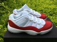 Wholesale 2016 air retro retro s varsity red white low men women basketball shoes sports sneakers size
