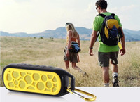 bicycle card box - Waterproof Shockproof Bicycle mini speaker Hands free MP3 player FM call back card reader Portable Music Box on bike bicycle DHL free