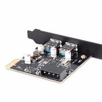 Wholesale New Expansion Card Port USB PCI e Controller Expansion Card PCI Desktop Computer