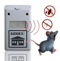 rat - pest repelling aid EU US Plug Electronic Ultrasonic Rat Mouse Repellent Anti Repeller killer Rodent Pest Bug Reject Mole mice