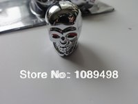 Wholesale valve cap Skull Style Bike Car Auto Motors Motorcycle Tire Tyre Valve Dust Cap Cover skull tire valves caps cover