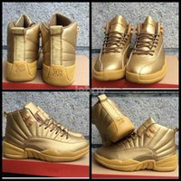 Wholesale 2016 Retro Mens Basketball Shoes Gold High Quality Sneakers Retros s Sneakers Outdoor Athletic Sport Shoes Eur