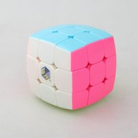 Wholesale New Yuxin Cubes Stickerless Cube x3x3 Pillow Cube Toys Round Bread Magic Cube x3x3 Speed Puzzles Cubo Magico Teaching Toys