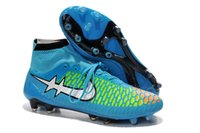 acc delivery - Original new high top Color gradient Magista Obra FG with ACC soccer shoes outdoor soccer boots clests meadow sports football shoe delivery