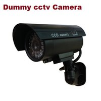 Wholesale Fake Dummy cctv Camera With Bliking LED IR Fake CCTV Camera indoor for home security system Cameras