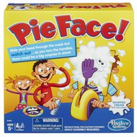 Wholesale In business HOT TALBE Games Pie Face Game Pie Face Cream On Her Face Hit The Send Machine Paternity Toy Rocket Catapult Game CONSOLES