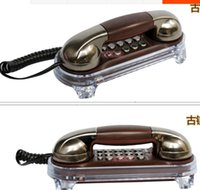 Wholesale MSQ Classic Retro Luminous phone antique telephones Fashion Hanging phone