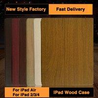 accessories bark - New Eco friendly wood ipad air2 cases protective shell original wood bark creative eco air1 holster ipad2 Smart Sleep