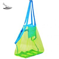 Wholesale Hot Sale Sand Carry Beach Mesh Bag for Chidren Swim Beach Toys Clothes Towel Bag Baby Toy Collection