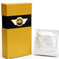 Wholesale Ultra Small Size Condoms Set MM Mini Condoms Uptight Condom Sex Toy For Adults x007