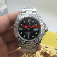 Wholesale Engraved skull mastermind sub automatic brand watches high grade quality sapphire crystal water resistant luxury watches