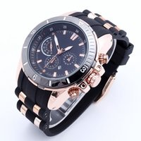 american complete - 2016 new fashion brand American luxury men s watches silicone strap calendar multifunctional military outdoor sports quartz watch DZ