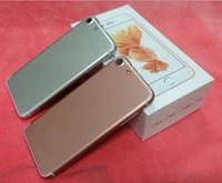 al por mayor el teléfono celular móvil de china-GooPhone i7 i7 iphone7 huella digital móvil 4G teléfono inteligente de doble tarjeta de ultrafinos nuevos teléfonos celulares teléfono móvil abierto con escáner de huellas digitales