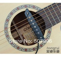 Wholesale New Arrival Quick Mount Sound Hole Acoustic Guitar pickup Black D