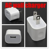 Wholesale New iphone Wall charger V A A EU US AU plug travel USB adapter for iphone samrt phone DHL free