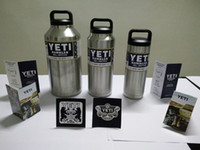 Wholesale Yeti Stainless Steel Tumbler Color Gold Pink Purple Black White Blue Green Orange10 oz oz oz oz OZ OZ In Stock