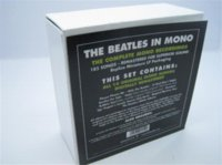 beatles disc - New amp Seal The beatles In Mono Box Set CD Disc Se white box limited edition