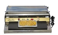 Wholesale 220V quot cm Food Tray Wrap Sealer Fruit Food Sealing Machine Wrapper Film